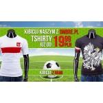 Ombre.pl: t-shirty dla kibiców od 19,99 zł
