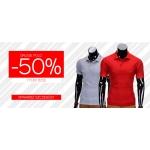 Ombre: 50% rabatu na drugą koszulkę polo