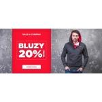 Ombre: 20% rabatu na wszystkie bluzy męskie