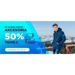 Ombre: 50% zniżki na akcesoria przy zakupie kurtki