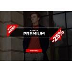 Ombre: Black Week 25% zniżki na kolekcję premium odzieży męskiej