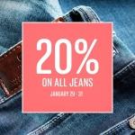 Only: 20% zniżki na wszystkie jeansy