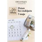 Organique: 5 maja Dzień bez makijażu do 20% zniżki