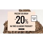 Orsay: 20% rabatu na najdroższy zakupiony produkt