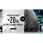 Orsay: 20% rabatu na najdroższy produkt z rachunku.
