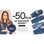 Orsay: 50 zł zniżki na wszystkie jeansy
