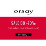 Orsay: wyprzedaż do 70% rabatu na odzież damską