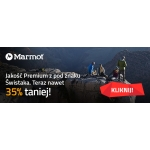 Outdoorzy: 35% rabatu na produkty marki Marmot