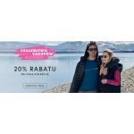 Outhorn: Szaleństwo Zakupów 20% rabatu na całą kolekcję odzieży damskiej i męskiej