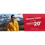 Outhorn: Weekend Zniżek dodatkowe 20% zniżki na całą kolekcję odzieży damskiej i męskiej