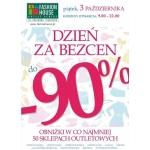 Dzień za Bezcen w Fashion House Outlet Center w Piasecznie 3 października 2014