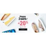 Eobuwie: do 20% zniżki na obuwie damskie i męskie