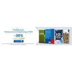 PWN Księgarnia Internetowa: 30% rabatu na książki wydawnictwa PWN
