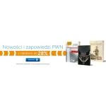 PWN Księgarnia Internetowa: do 28% zniżki na nowości i zapowiedzi książkowe