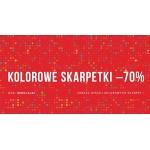 Pako Lorente: 70% zniżki na kolorowe skarpetki