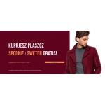 Pako Lorente: kupujesz płaszcz a spodnie i sweter otrzymasz Gratis