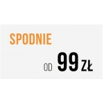 Pako Lorente: spodnie męskie od 99 zł