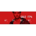 Pako Lorente: wyprzedaż do 77% rabatu na odzież męską