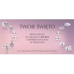 Pandora: promocja na Dzień Kobiet kolczyki w prezencie przy zakupach za min. 399 zł