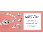 Pandora: prezent o wartości do 119 zł przy zakupach za min. 299 zł z okazji Dnia Matki