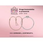 Pandora: Stylowe Zakupy przy zakupie jednej bransoletki, druga bransoletka w prezencie
