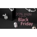 Pandora: Black Friday 20% rabatu na biżuterię - bransoletki, pierścionki, naszyjniki, kolczyki