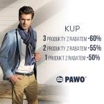 Pawo: rabaty do 60% zniżki