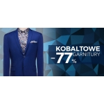 Pawo: 77% rabatu na kobaltowe garnitury