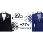 Pawo: wyprzedaż do 77% rabatu na garnitury męskie