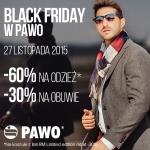 Black Friday w Pawo: promocje do 60% zniżki