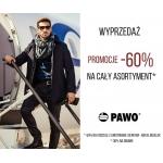 Pawo: wyprzedaż do 60%