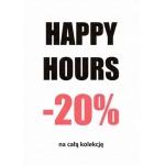 Pimkie Happy Hours: 20% zniżki na całą kolekcję