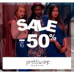 Pretty One: wyprzedaż do 50% rabatu na odzież damską