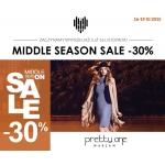 Pretty One: Mid Season Sale i 30% zniżki na całą kolekcję