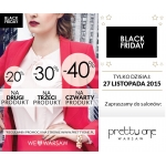 Black Friday w Pretty One: do 40% zniżki na zakupy