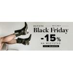 Primamoda: Black Friday 15% rabatu na buty damskie i męskie oraz torebki