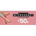 Primamoda: wyprzedaż do 50% rabatu na buty damskie i męskie, torebki, portfele oraz inną galanterię skórzaną