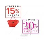 Primamoda: 20% zniżki na buty, 15% zniżki na torebki