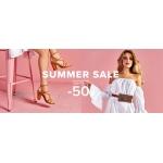 Primamoda: letnia wyprzedaż do 50% zniżki na obuwie damskie i męskie oraz torebki