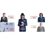 Próchnik: do 70% rabatu na garnitury, marynarki, koszule oraz płaszcze
