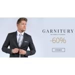 Próchnik: wyprzedaż 60% zniżki na garnitury