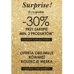 Promod: 30% zniżki przy zakupie 2 produktów
