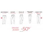 Promod: 50% rabatu na drugie jeansy