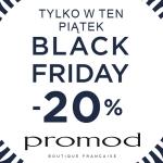 Black Friday w Promod: 20% zniżki
