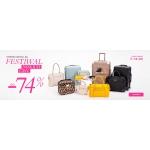 Puccini: Festiwal Niskich Cen do 74% zniżki na walizki, kuferki, kosmetyczki, torebki, portfele, paski, etui i torby