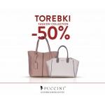 Puccini: 50% zniżki na torebki Fashion Collection