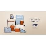 Puccini: Festiwal Okazji do 70% rabatu na walizki, torebki, torby, kosmetyczki, portfele i plecaki