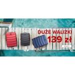 Puccini: duże walizki z kolekcji Majorca w cenie 139 zł