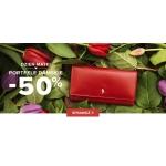 Puccini: 50% zniżki na portfele damskie skórzane na Dzień Matki