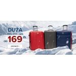 Puccini: duże walizki ABS od 169 zł